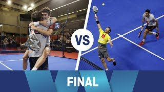 Resumen Final Masculina Stupa/Cristian VS Sanyo/Maxi Granada Open 2018