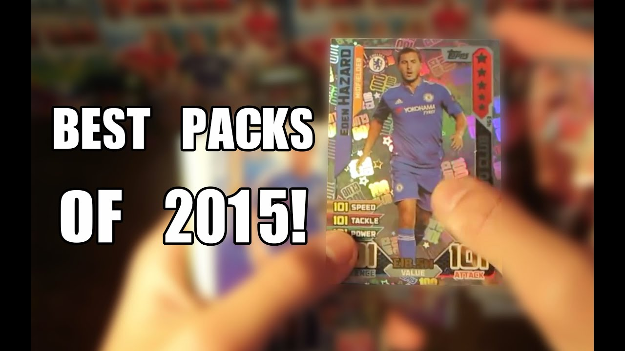 My best trading card packs of 2015 funnydog tv for Best cards for 2015