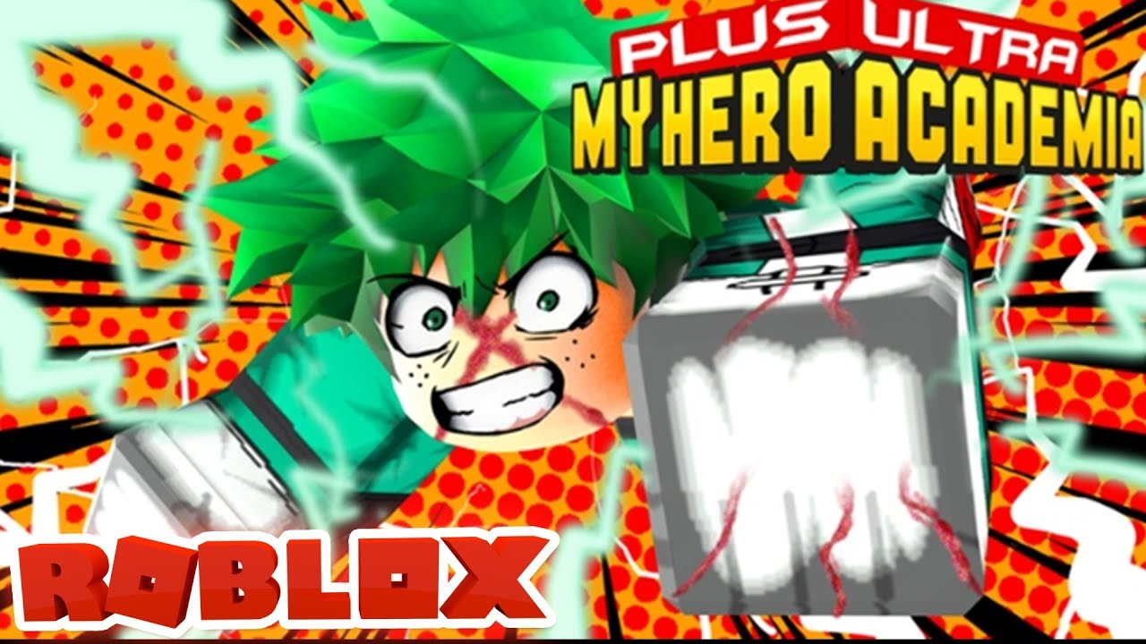 GETTING ONE FOR ALL QUIRK IN MY HERO ACADEMIA PLUS ULTRA! (Roblox)