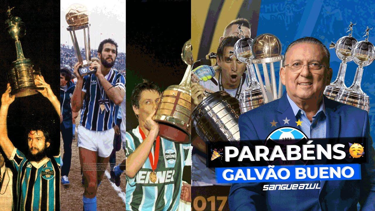 Parabéns, Galvão Bueno! | Versão Grêmio