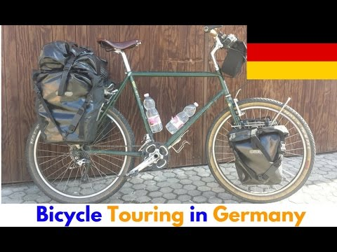 Bicycle touring in Germany - Cycling along the River Danube