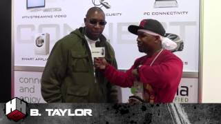 B.Taylor Hip-Hop Artist Discovered By Motown Legends Interview: CES Interview
