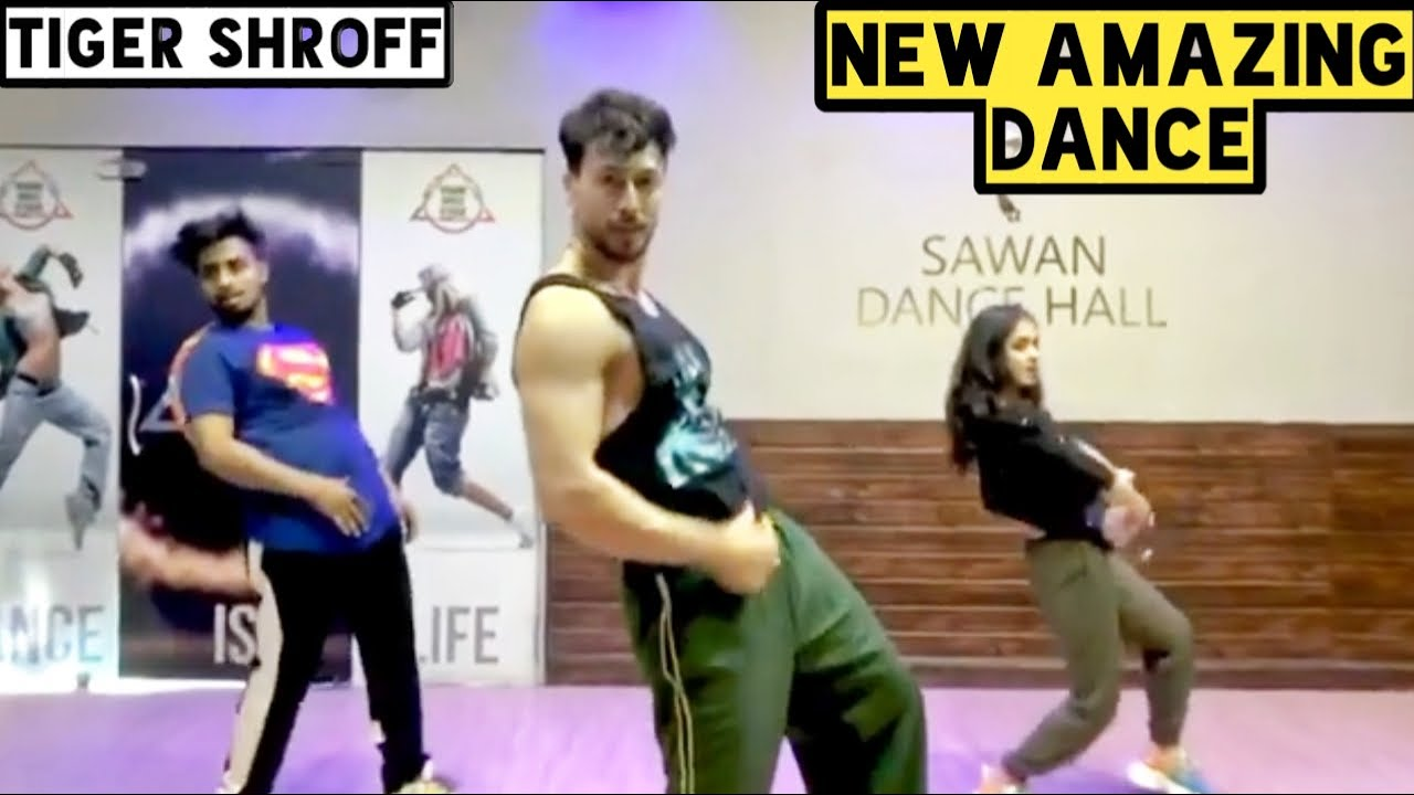 Tiger Shroff || New Amazing Dance