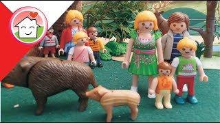 Playmobil po polsku Wizyta w zoo / Rodziną Hauserów