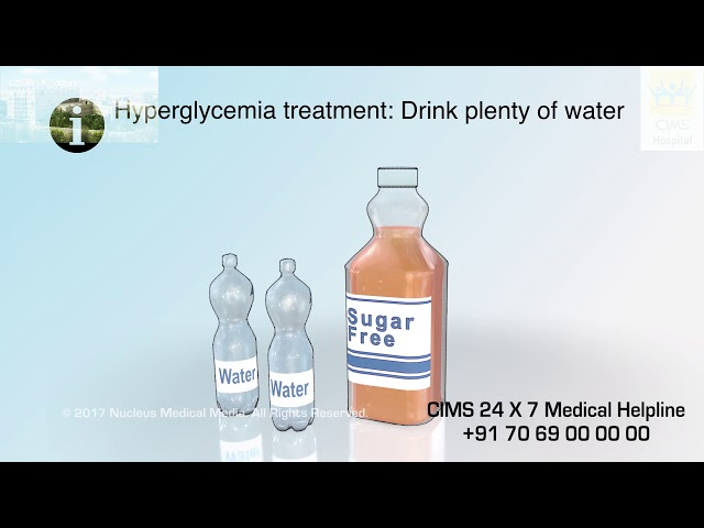 Treating High Blood Sugar (Gujarati) - CIMS Hospital