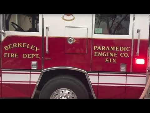 Berkeley Firefighters Video Devastation In Santa Rosa