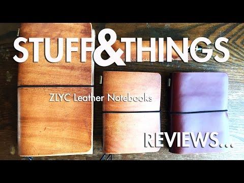 Review: ZLYC Leather Notebooks - A Midori Alternative?