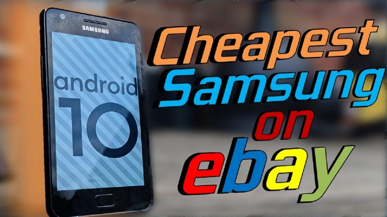 The Cheapest Phone On Ebay Youtube