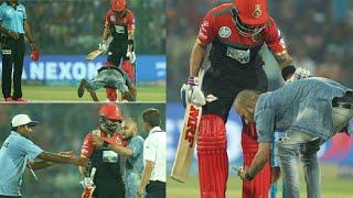 Fan Touched Virat Kohli feet, Watch Video