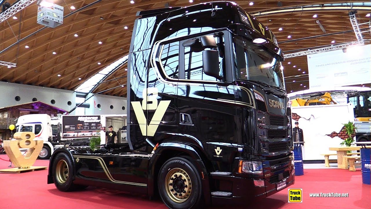 2020 Scania S650 50-Years V8 Edition 650hp Truck - Exterior ...