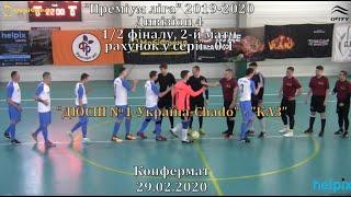 ДЮСШ 1 Україна Chado КАЗ 7 5 Дивізіон 4 1 2 фіналу 2 й матч 29 02 20