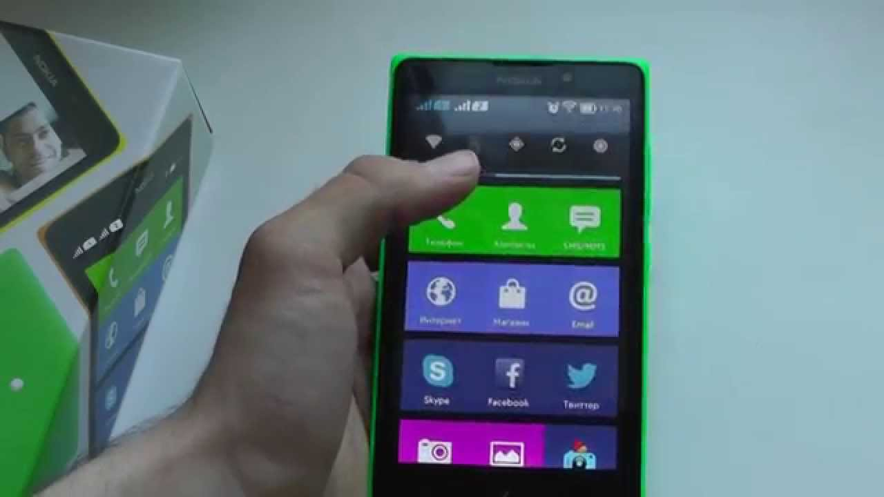 Прошивка Nokia Xl Кастомная - YouTube