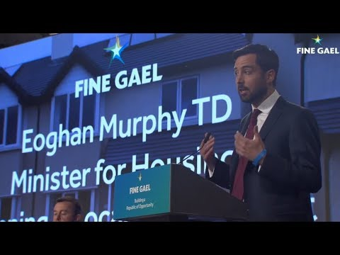 Speaking at the Fine Gael National Conference 2017
