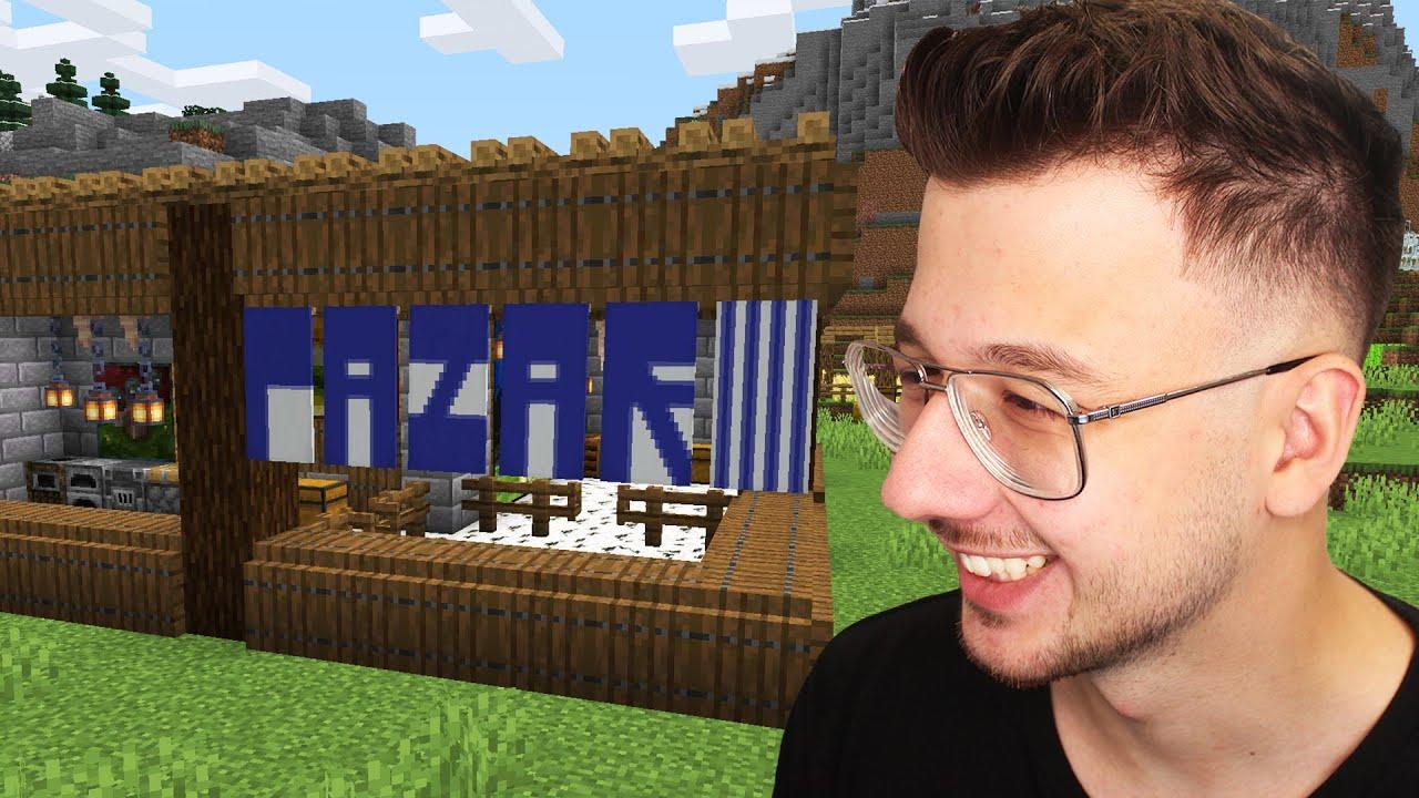 Download minecraft'ta PAZAR inşaa ettim! - Bölüm 9