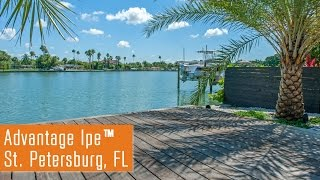 Grayed Out Advantage Ipe™ Deck in St. Petersberg, FL