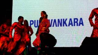 Abhilasha dancing to a South Indian song Selfie pulla at Indian Shopping Festival 2014