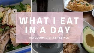 What I Eat in a Day on the Ketogenic Diet