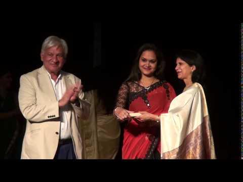 Indore artists receiving awards - 19