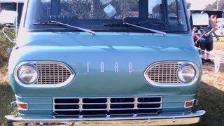1963 Ford E100 Econoline Pickup Grn SumtFG090212