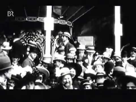 Alte Filmaufnahmen aus Hof an der Saale und Franken