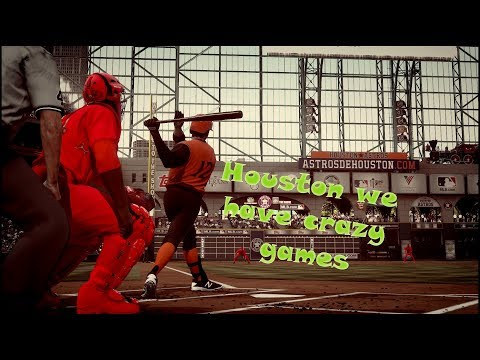 Crazy games in minute maid park!!