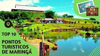 10 pontos turisticos mais visitados de Maringá