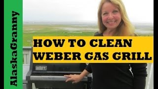 How To Clean Your Weber Gas Barbecue Grill