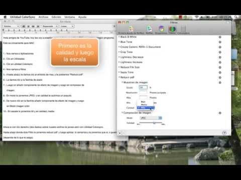 como bajar de peso un pdf en mac