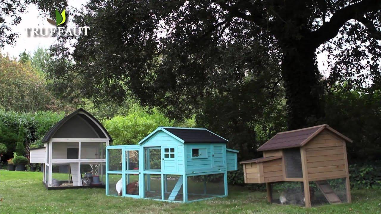 comment choisir un poulailler jardinerie truffaut tv. Black Bedroom Furniture Sets. Home Design Ideas
