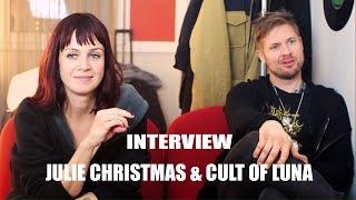 Julie Christmas & Cult of Luna interview @ Lausanne (11/03/2016)