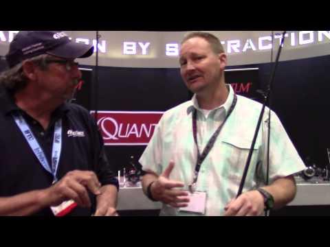 Quantum Saltwater Rod At ICAST 2015