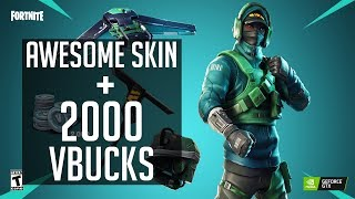 How to Get The Nvidia Exclusive Fortnite Skin Set - COUNTERATTACK