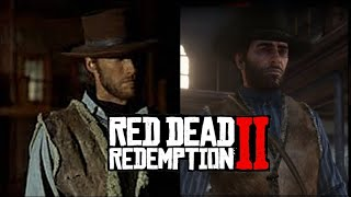 RDR2 | The Good outfit - Clint Eastwood