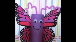 50 Ideas para reciclar tubos de papel hi...