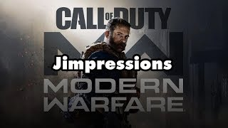 Call Of Duty: Modern Warfare - Shock & Bore (Jimpressions) (Video Game Video Review)