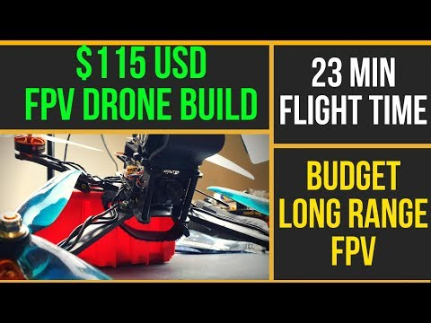 How To Build Budget Long Range FPV Drone // Eachine Tyro129 Flight And Review