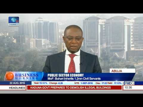 Business Morning: Analysing Nigeria's Public Sector Economy Pt 1