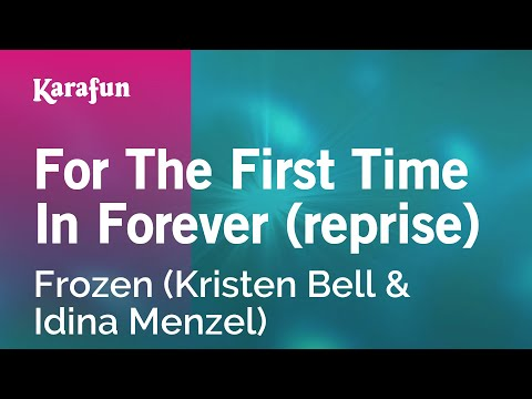Karaoke For The First Time In Forever (Reprise) - Frozen *