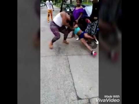 Girl fight titties