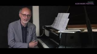 Alba Music Festival 2020 - Incontro con il compositore Giacomo Platini