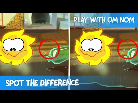 Spot the Difference - Om Nom Stories: Bakery