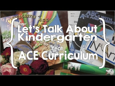 Let's Talk About Kindergarten with ACE Curriculum