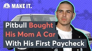 Pitbull Used His First Paycheck To Buy His Mother A Car | CNBC Make It.