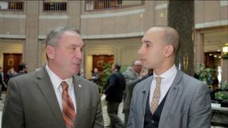 State Representative Chris Soto with Mayor Mike Passaro