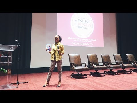 How I Received $500,000 in College Scholarships | Joi Wade Speaking at USC College Access Day