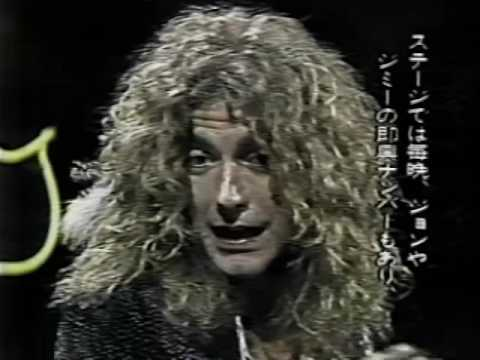 Led Zeppelin Midnight Special 1975 (Robert Plant interview)