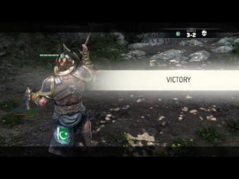 For Honor Persian prince vs Crusader