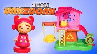 TEAM UMIZOOMI Nickelodeon Team Umizoomi Mighty Matching Treehouse a Umizoomi Video Toy Review