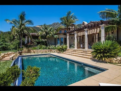 Elegant tuscan estate in santa barbara california youtube - Tuscany sotheby s international realty ...