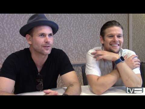Matthew Davis  & Zach Roerig   THE VAMPIRE DIARIES SEASON 8